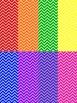 Rainbow Chevron Papers