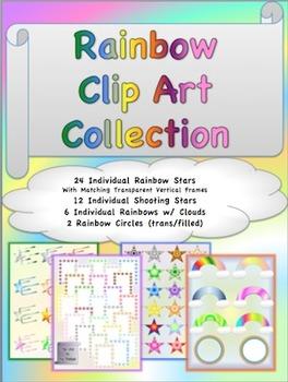 Rainbow Clip Art Collection