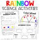 Rainbow Colors Literacy, Art, and Science Kindergarten