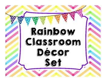 Rainbow Decor Set