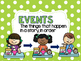 Rainbow Dots - Story Elements Posters & Story Map
