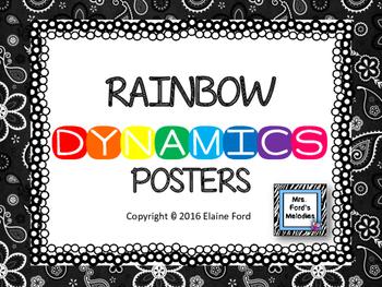 Rainbow Dynamics Posters