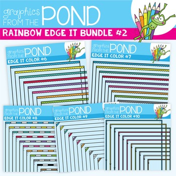 Rainbow Edge It Borders Mini Pack 2