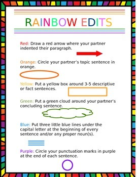 Rainbow Edits