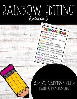 Rainbow Editing Handout