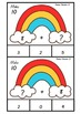 Rainbow Fact Clip Cards