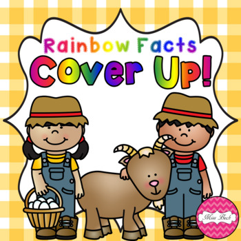 Rainbow Facts Cover Up! Farm Theme