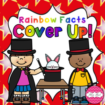 Rainbow Facts Cover Up! Magician Theme