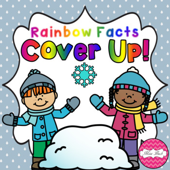 Rainbow Facts Cover Up! Winter Theme