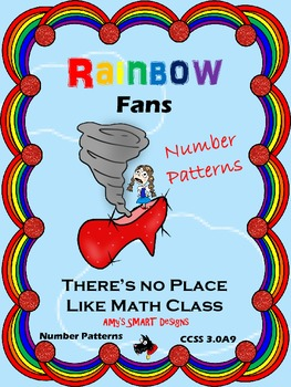Number Patterns: Rainbow Fans