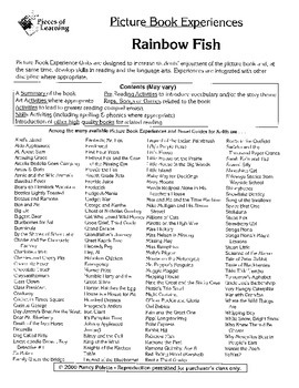 Rainbow Fish Literature Guide