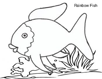 Rainbow Fish Template
