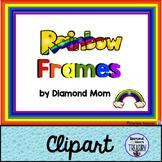 Rainbow Frames Clipart