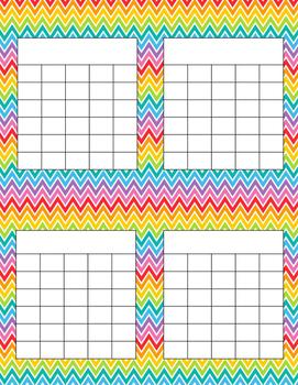 Rainbow Incentive Charts- Set of 3 {FREEBIE}