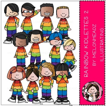 Rainbow Kidlettes 2 by Melonheadz