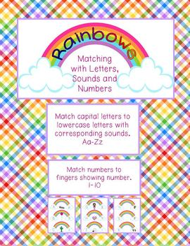 Rainbow Letters, Souns and Numbers