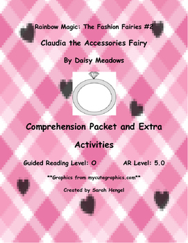 Rainbow Magic:Claudia the Accessories Fairy Daisy Meadows