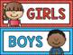 Rainbow Patterns Classroom Decor Bundle {500+ pages!}