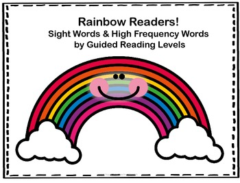 Rainbow Readers:  High Frequency & Sight Words by Guided R