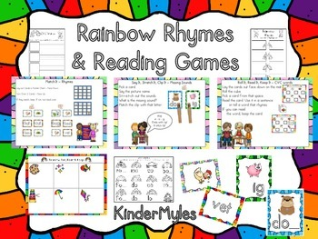 Rainbow Rhymes and Reading