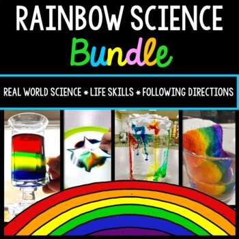 Rainbow Science Experiment - Special Education - Procedura