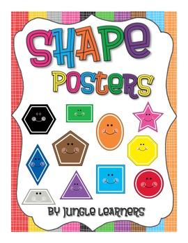 Shape Posters: Rainbow