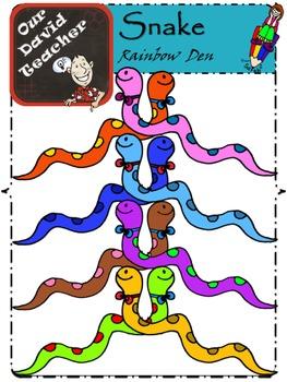 Rainbow Snakes { OurDavidTeacher }