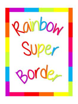 Rainbow Super Border