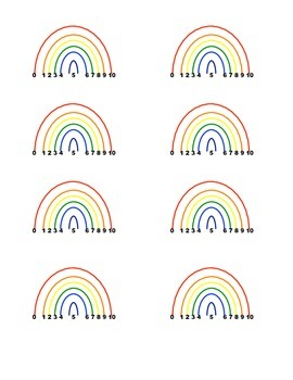 Rainbow Ten Partners Student Reference Card