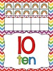 Rainbow Themed Number Posters 0-20