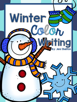Rainbow Writing Letters {Winter Colors}
