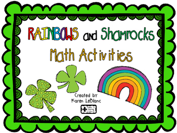 Rainbow and Shamrocks Math Activities