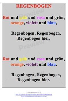 Rainbow song in German Updated