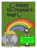 Rainbows and Shamrocks Read, Write, and Count