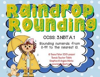 Raindrop Rounding to the Nearest 10