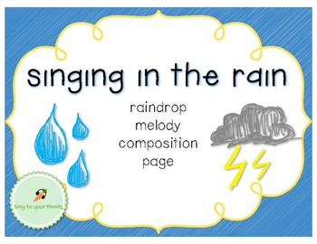 Raindrops - Composing with Do, Mi, Sol