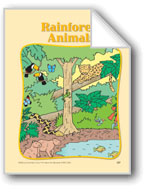 Rainforest Animals: Circle-Time Book