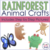 Rainforest Animals Crafts
