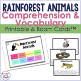 Rainforest Animals Facts:  Expressive and Receptive Langua