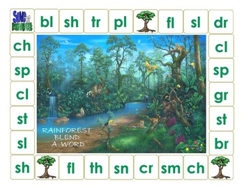 Rainforest Blend a Word