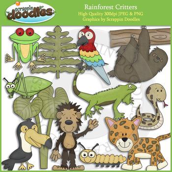 Rainforest Critters