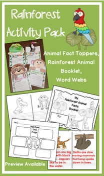 Rainforest Activity Pack