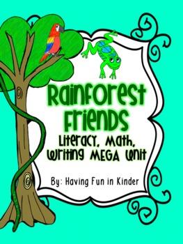 Rainforest - Literacy, Math and Writing MEGA Unit