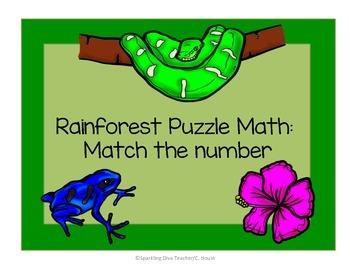 Rainforest Match 1-20  Math
