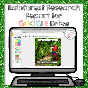 Summer Games Amazon Rainforest Research for Google Drive