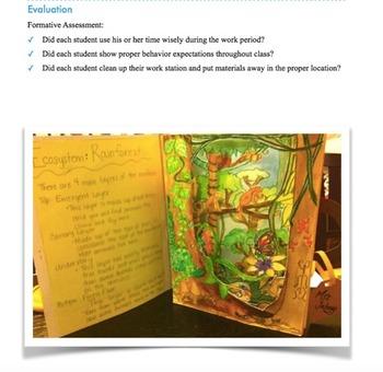 Rainforest Unit Plan and PowerPoint