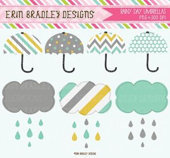 Rainy Day Clipart Graphics