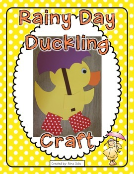 Rainy Day Duckling (Spring Craft)