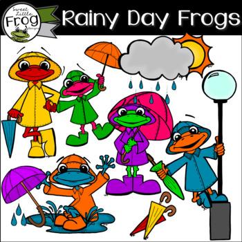 Rainy Day Frogs