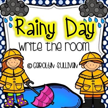 Rainy Day Kids: Write the Rooms